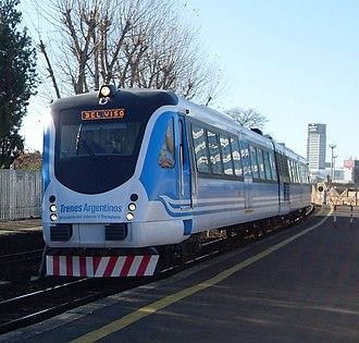 Emepa Group - Alerce diesel multiple units.