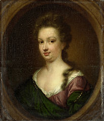 Portrait of Emerantia van Citters (1666-94), sister of Anna van Citters