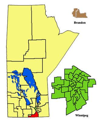 Emerson (electoral district) - Image: Emerson 2011