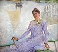 Emile Claus (1849-1924) Portret van de kunstenares Anna De Weert (1899) MSK Gent 22-10-2017 11-50-20.JPG