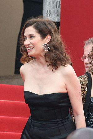 English: Emmanuelle Devos, at Cannes Film Fest...