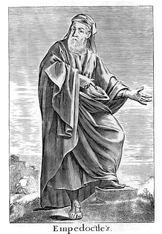 Empedocles - Empedocles, 17th-century engraving