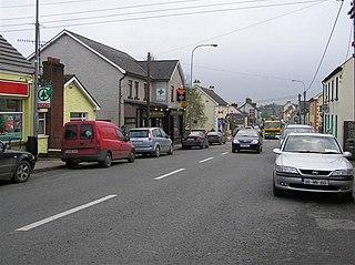 Emyvale Village in Ulster, Ireland