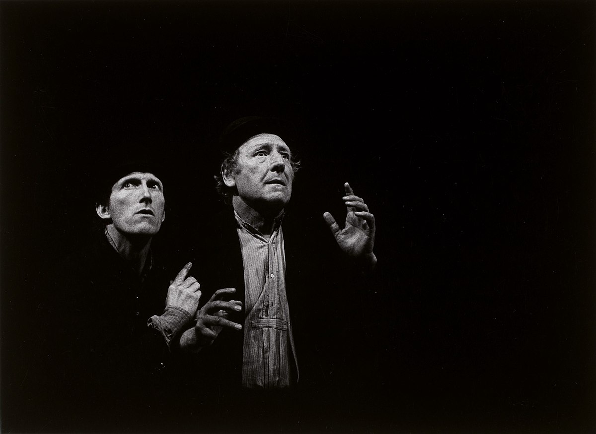 a comparison between vladimir and estragon in waiting for godot a play by samuel beckett Waiting for godot, written by samuel beckett, is a tragicomedy about two men waiting for a person or thing named godot the play entitles two contrasting pairs of characters, vladimir and estragon, pozzo and lucky.