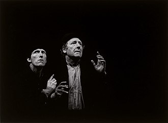 Waiting for Godot - Waiting for Godot, staging by Otomar Krejca, Avignon Festival, 1978