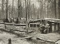 Enemy Activities - Miscellaneous - German propaganda activities. A German camp in the woods between Bailly and Ribecourt. Bailly is located about two miles from Ribecourt NARA - 31480220 (cropped).jpg