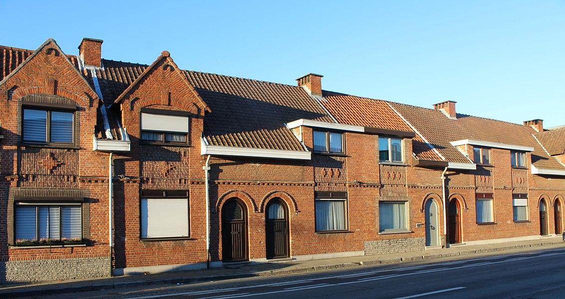 """Arbeiderswoningen """"Engels Kamp"""", Beveren, Gentseweg 74-80"""