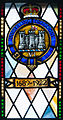 Enniskillen Cathedral of St. Macartin North Aisle Royal Inniskilling Dragoons Window Detail Insigna 1689-1922 2012 09 17.jpg
