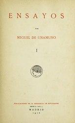 Miguel de Unamuno: Español: Ensayos
