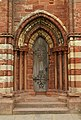 Entrance into the Kirkwall Cathedral.JPG