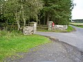 Entrance to Barrasford Caravan Park - geograph.org.uk - 255443.jpg