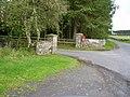 Entrance to Barrasford Caravan Park - geograph.org.uk - 255443.jpg