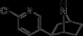Epibatidine - Image: Epibatidine structure