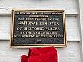Episcopal Church of the Incarnation Historical Marker, Highlands, NC (45728219875).jpg