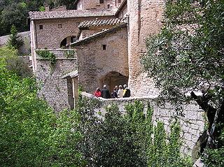 Eremo delle Carceri Catholic sanctuary in Italy