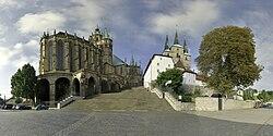 Erfurt Dom Domtreppe Severikirche small.jpg