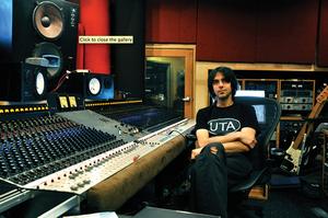 Eric Valentine - Eric Valentine at Barefoot Recording 2010