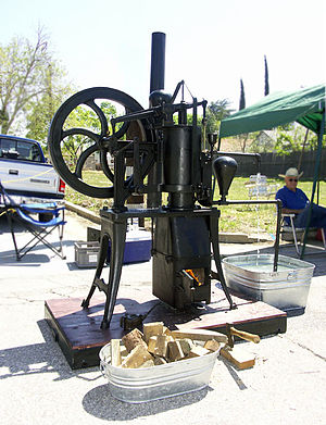 Stirling engine - A typical late nineteenth/early twentieth century water pumping engine by the Rider-Ericsson Engine Company