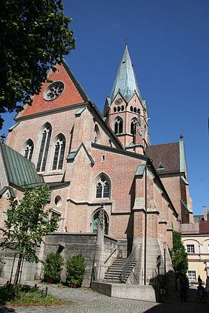St. Ottilien Archabbey - The monastery church (Herz-Jesu-Kirche)