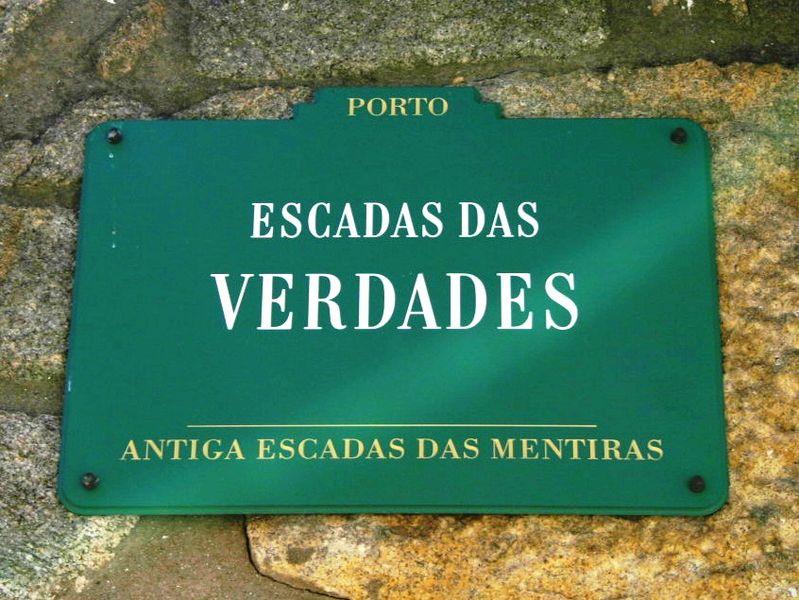 Imagem:Escada das Verdades placa (Porto).jpg