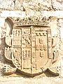 Escudo Isabel de Portugal, Reina de Castilla - Cartuja Miraflores.JPG