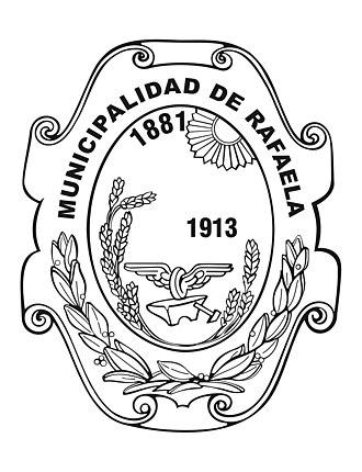 Rafaela - Image: Escudo Municipalidad Actual de Rafaela