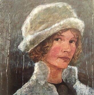 Ester Ellqvist - Self-portrait, 1910