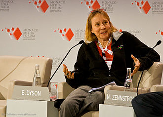 "Vaporware - Influential writer Esther Dyson (pictured here in 2008) popularized the term ""vaporware"" in her November 1983 issue of RELease 1.0."