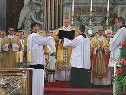 Esztergom - Meszlényi beatification 9.JPG