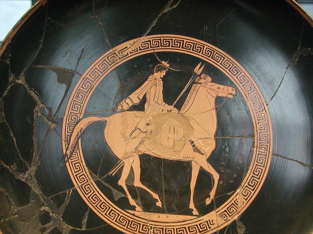 File Euphronios 0001 Rider Louvre G105 Jpg Wikimedia