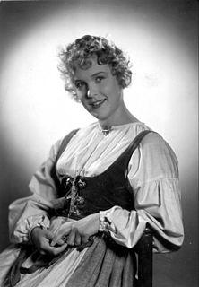 Eva Dahlbeck Swedish actress