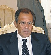 Sergey Lavrov. Photo by Mikhail Evstafiev