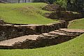Excavated Brick Structure - Khana-Mihir Mound - South-eastward View - Berachampa - North 24 Parganas 2015-04-11 7143.JPG