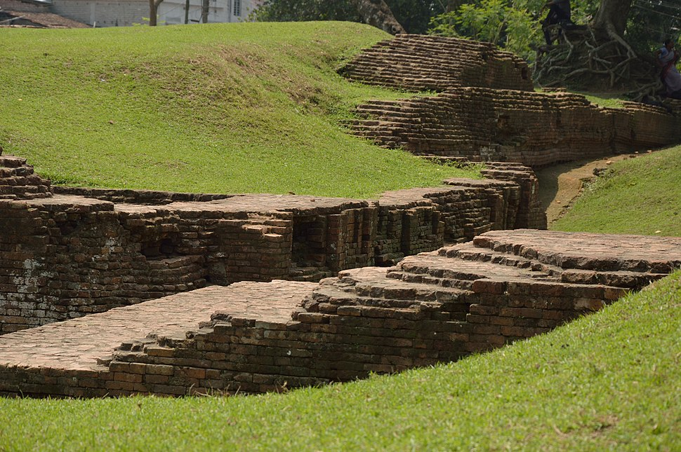 Excavated Brick Structure - Khana-Mihir Mound - South-eastward View - Berachampa - North 24 Parganas 2015-04-11 7143