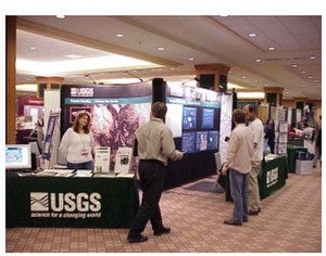 American Association of Geographers - The exhibit hall at an AAG Annual Meeting