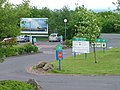 Exit, Motorway Services, M74 - geograph.org.uk - 184668.jpg