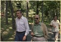 Ezer Weizman and Moshe Dayan at Camp David - NARA - 181189.tif