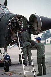 F-105D Thunderchief radar 1978