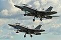 F-A-18C Hornets - RIAT 2014 (14547949408).jpg