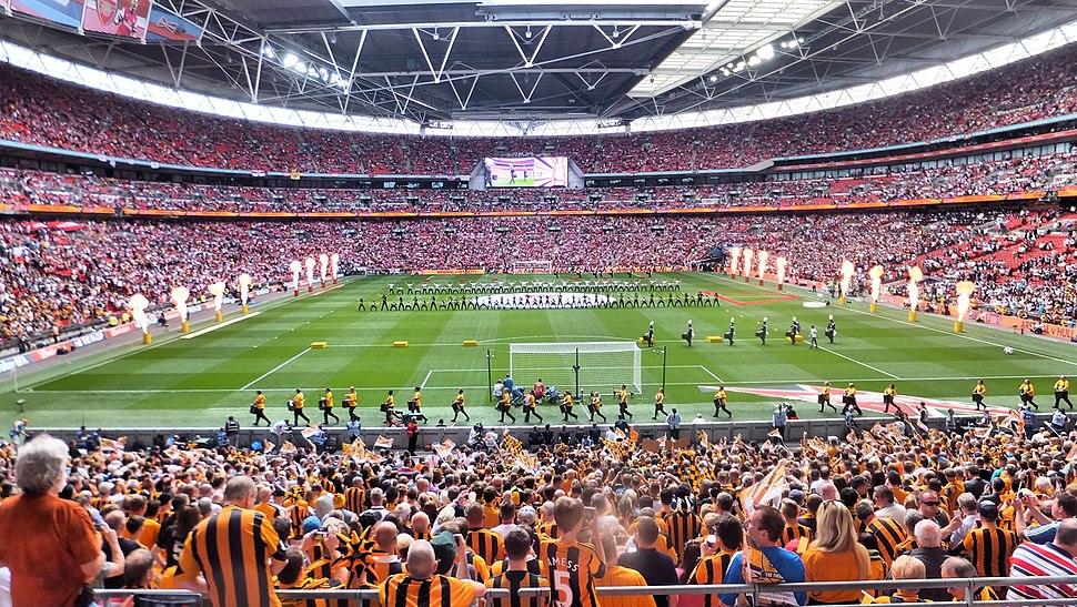 FA Cup Final 2014 Wembley stadium