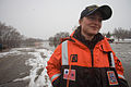 FEMA - 40406 - U.S. Coast Guard team member on the water in Minnesota.jpg