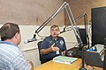 FEMA - 44937 - FEMA Public Affairs representative being interviewed on the radio in Illinois.jpg