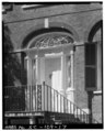 FIRST FLOOR ENTRY, SOUTH SIDE - William Blacklock House, 18 Bull Street, Charleston, Charleston County, SC HABS SC,10-CHAR,130-17.tif