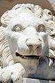 Face of statue of Lion in Norcia.jpg