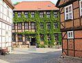 Fachwerkhäuser in Altstadt Qudlinburg. IMG 3857WI.jpg