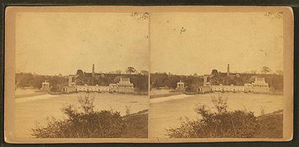 Fairmount from West Philadelphia, by Newell, R., d. 1897