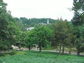 Falmouth, Virginia as seen from Belmont house.jpg