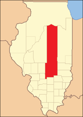 Fayette County, Illinois - Image: Fayette County Illinois 1824
