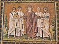 Feeding the multitude, Sant'Apollinare Nuovo, Ravenna.jpg