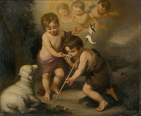 Baby Jesus with Saint John the Baptist
